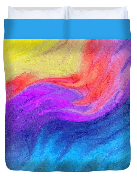 Abstract 37 Duvet Cover by Kenny Francis