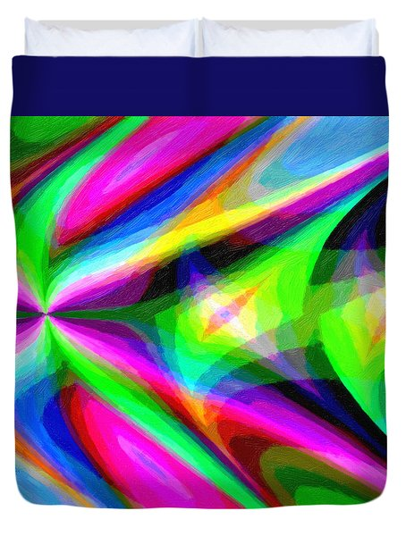 Abstract 45 Duvet Cover by Kenny Francis