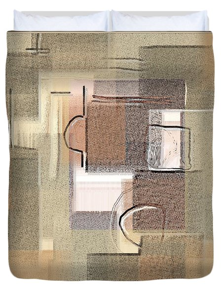 Abstract 949 Duvet Cover by Nedunseralathan R