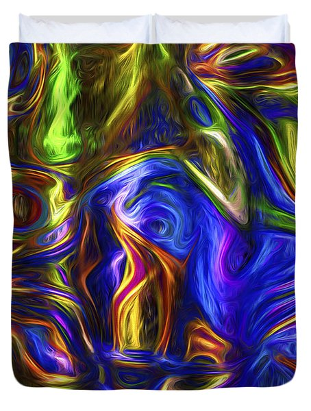Abstract Series A3 Duvet Cover
