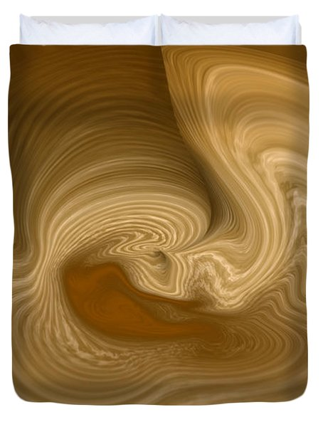Duvet Cover featuring the photograph Abstract Design by Charles Beeler