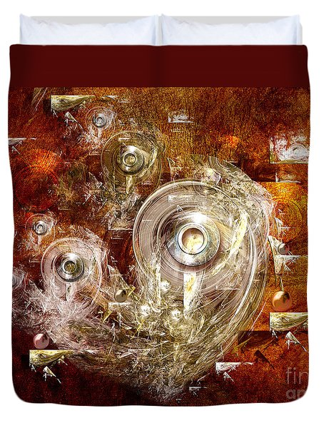 Abstract Discs Duvet Cover