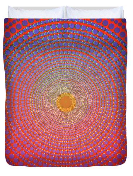 Abstract Dot Duvet Cover