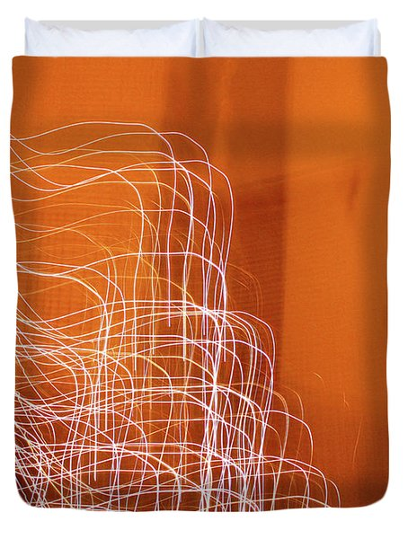 Abstract Energy Duvet Cover