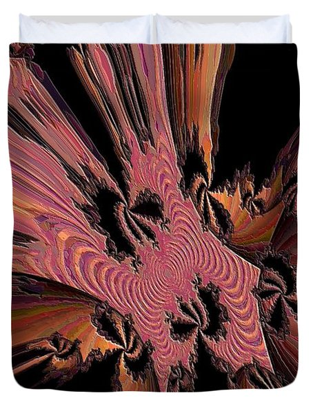 Abstract Explosion Duvet Cover by Jeff Swan