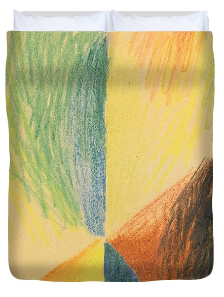 Abstract Forms Xiv Duvet Cover