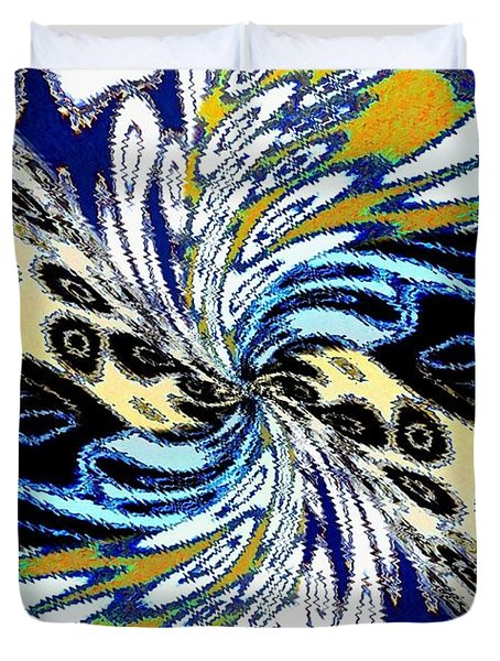 Abstract Fusion 198 Duvet Cover