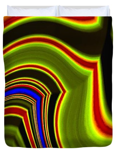 Abstract Fusion 234 Duvet Cover
