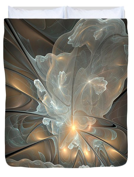 Abstract Duvet Cover by Gabiw Art
