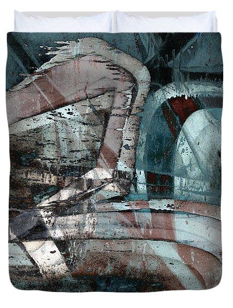 Abstract Graffiti 9 Duvet Cover