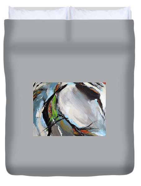 Abstract Horse 6 Duvet Cover