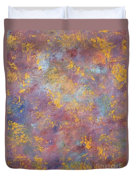 Abstract Impressions Duvet Cover