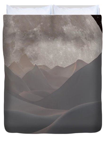 Abstract Landscape #3 Duvet Cover by Wally Hampton