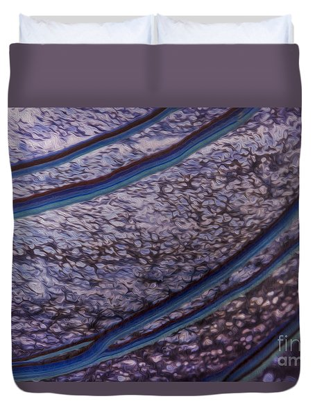 Abstract Lines. Duvet Cover