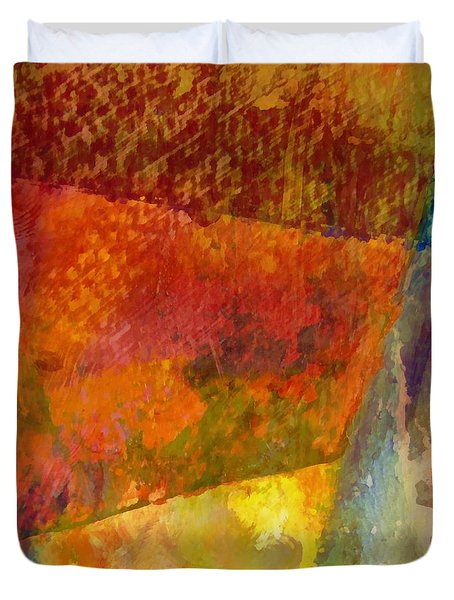 Abstract No. 2 Duvet Cover