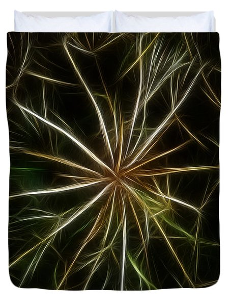 Abstract Of Nature 2 Duvet Cover by Vivian Christopher