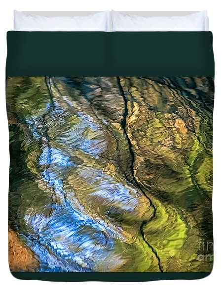 Abstract Of Nature Duvet Cover