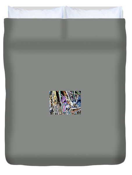 Abstract On Dream  Duvet Cover by Basant Soni