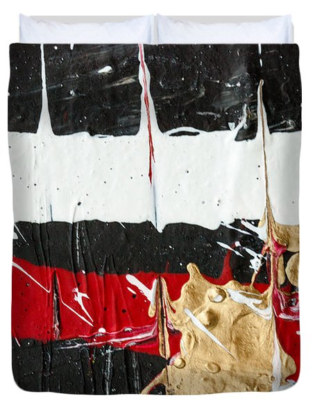 Abstract Original Painting Number Five Duvet Cover