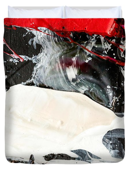Abstract Original Painting Number Three Duvet Cover