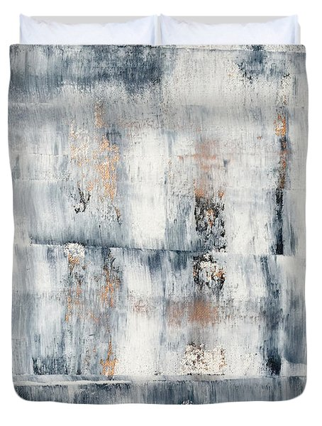 Abstract Painting No. 1 Duvet Cover by Julie Niemela
