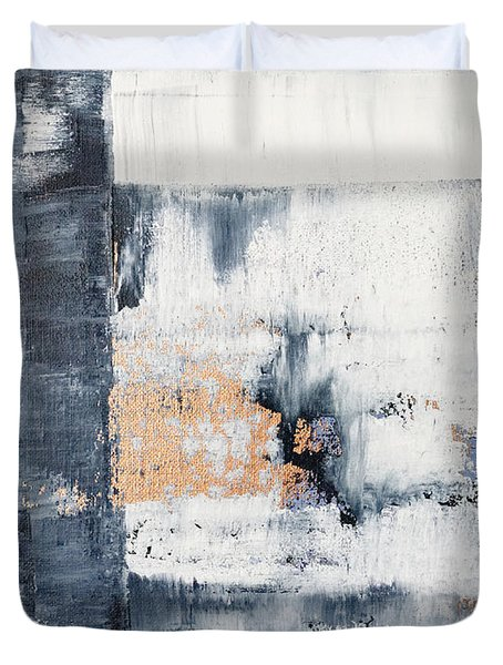 Abstract Painting No.5 Duvet Cover by Julie Niemela