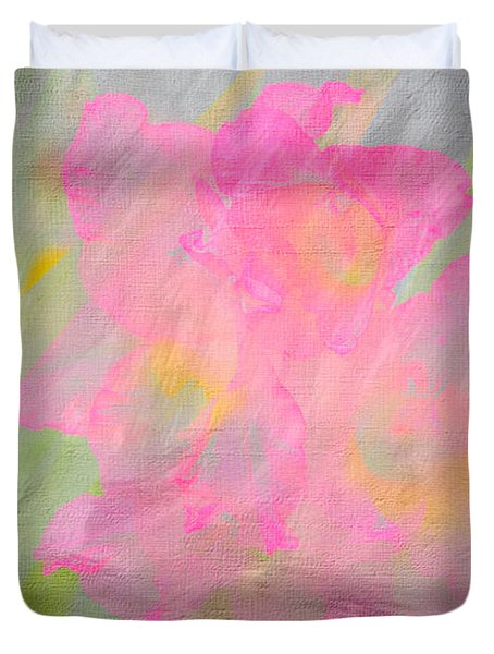 Abstract Pastel Duvet Cover