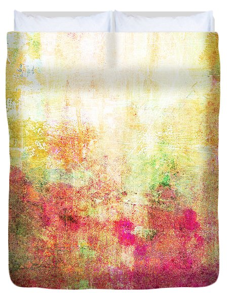 Abstract Print 14 Duvet Cover by Filippo B