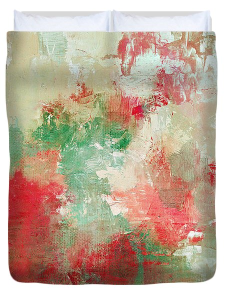 Abstract Print 18 Duvet Cover by Filippo B