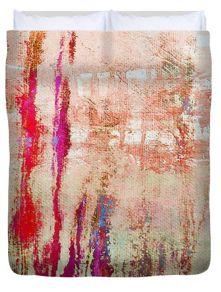 Abstract Print 22 Duvet Cover by Filippo B