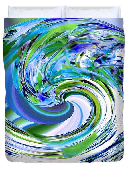 Abstract Reflections Digital Art #3 Duvet Cover