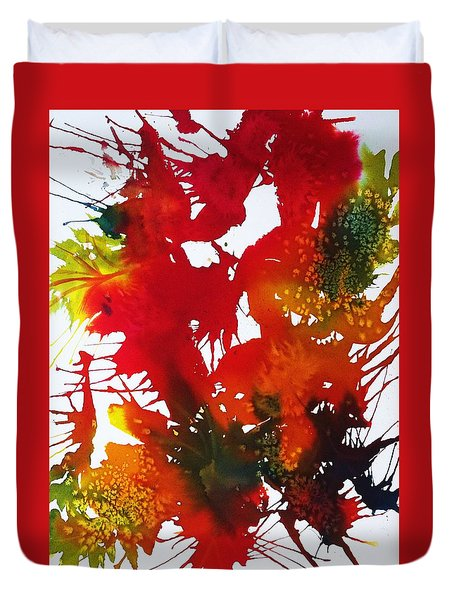 Abstract - Riot Of Fall Color II - Autumn Duvet Cover