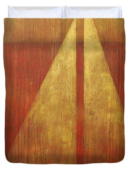 Abstract Sail Duvet Cover