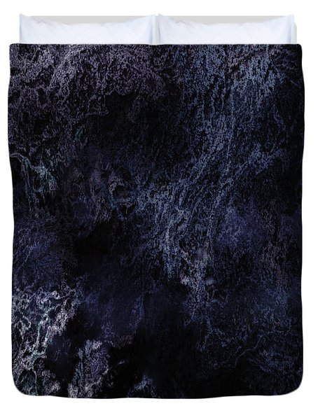 Abstract Scenery No.6 - Nightmare Duvet Cover by Wolfgang Schweizer