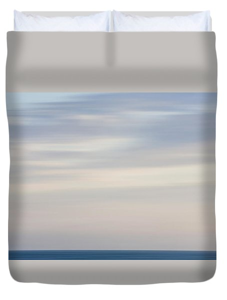 Abstract Seascape No. 01 Duvet Cover