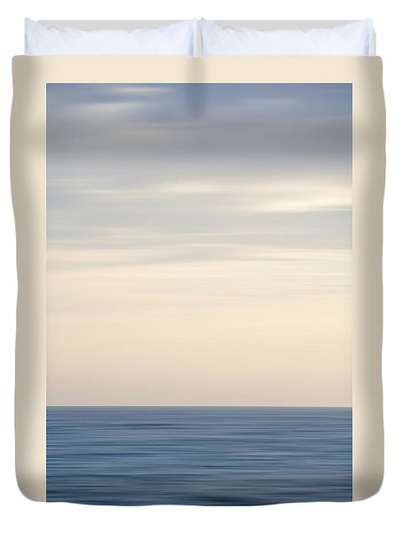 Abstract Seascape No. 04 Duvet Cover