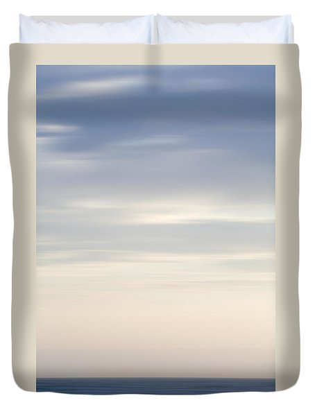 Abstract Seascape No. 05 Duvet Cover