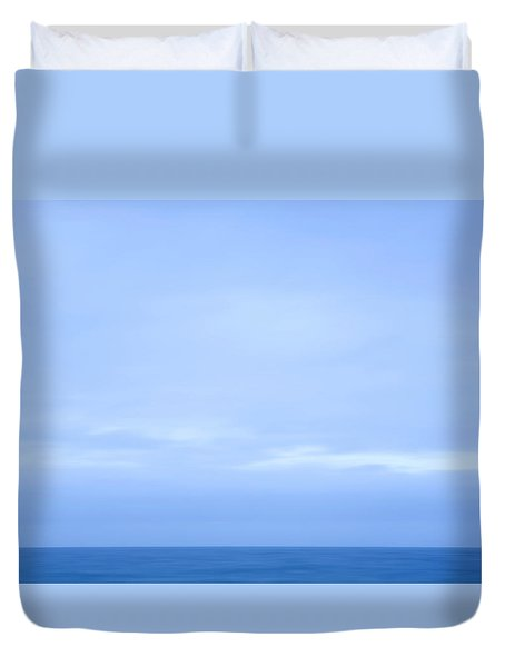 Abstract Seascape No. 07 Duvet Cover