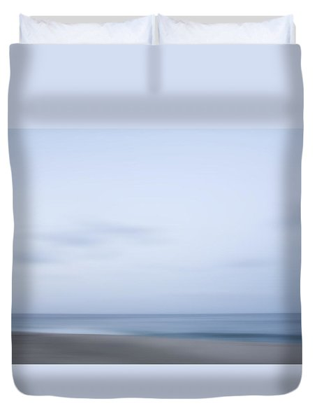 Abstract Seascape No. 08 Duvet Cover