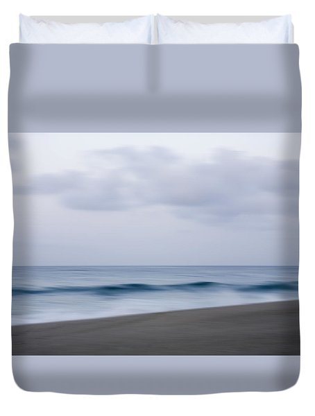 Abstract Seascape No. 09 Duvet Cover