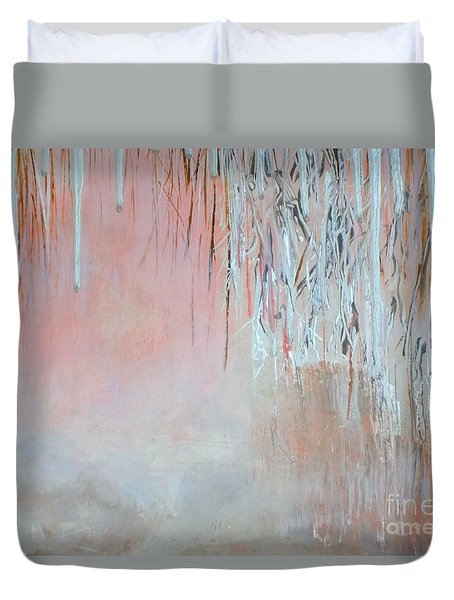 Abstract Spring Duvet Cover