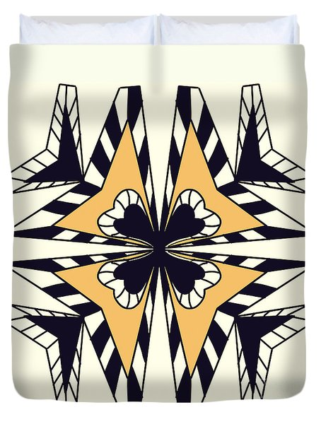 Abstract Symmetry-2 Duvet Cover