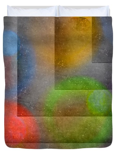Abstract Textures Duvet Cover