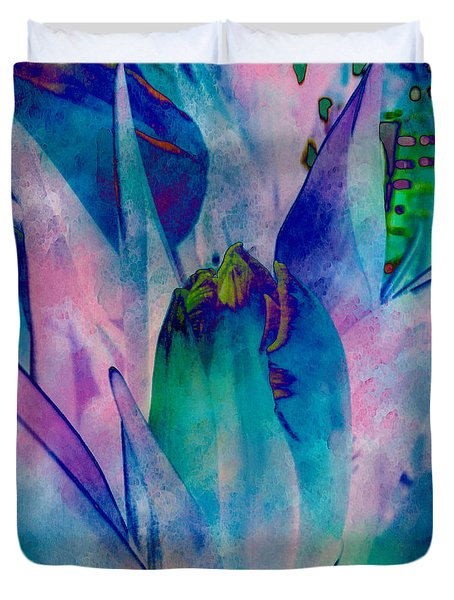 Abstract Tulip Duvet Cover