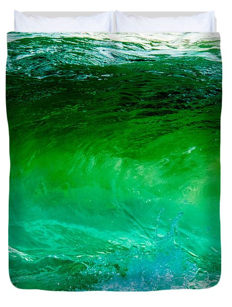 Abstract Wave 3 Duvet Cover