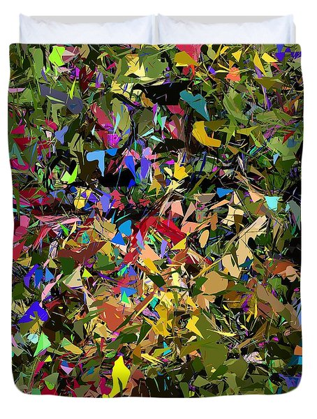 Abstraction 2 0211315 Duvet Cover by David Lane