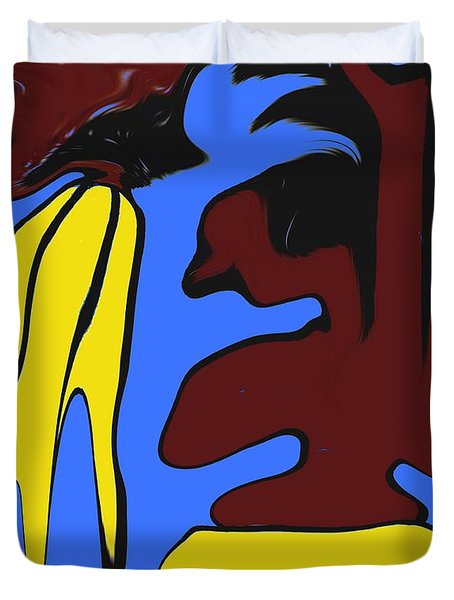 Abstraction 229 Duvet Cover by Patrick J Murphy