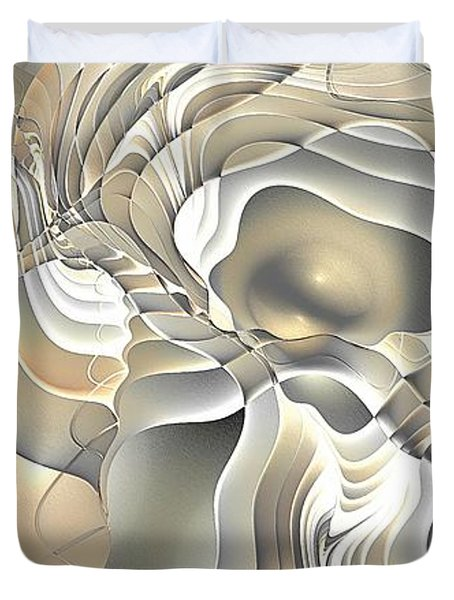 Abstraction 234-03-13- Marucii  Duvet Cover