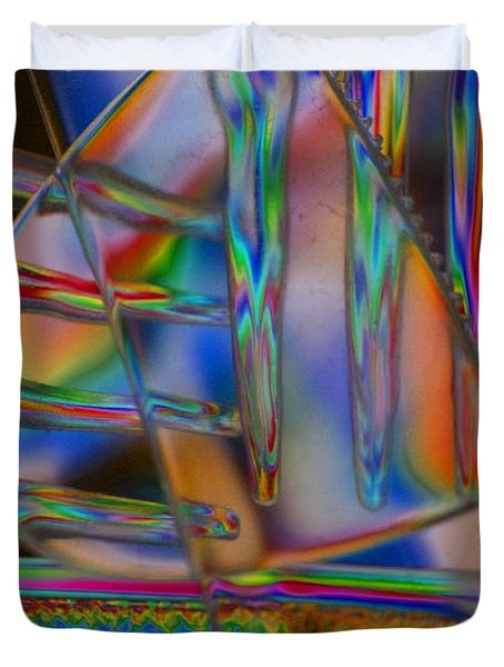 Abstraction In Color 1 Duvet Cover