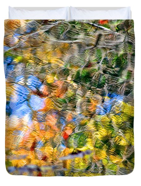 Abstracts Of Nature Duvet Cover by Frozen in Time Fine Art Photography